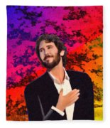 Merry Christmas Josh Groban Fleece Blanket