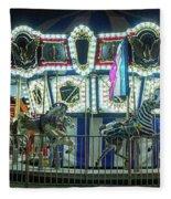 Merry-go-round Fleece Blanket