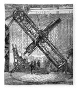 Merz Telescope, Royal Observatory Fleece Blanket