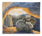 Mesa Arch Magic Fleece Blanket
