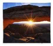 Mesa Sunrise Fleece Blanket