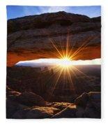 Mesa Sunrise Fleece Blanket