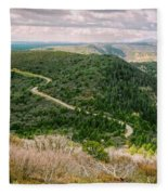 Mesa Verde Park Overlook II Fleece Blanket