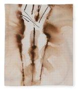 Mesh II  His Divine Love Series No. 1285 Fleece Blanket