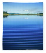 Mesmerizing Ripples Fleece Blanket