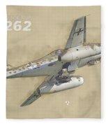 Messerschmitt Me-262 Fleece Blanket