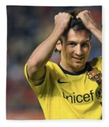 Messi 2 Fleece Blanket