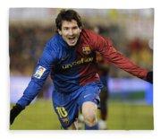 Messi 1 Fleece Blanket