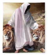 Messiah Israel And Judah Fleece Blanket