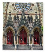 Methodist Church - Baltimore Fleece Blanket