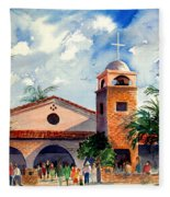 Methodist Church  Gilbert Az Fleece Blanket