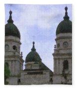 Metropolitan Cathedral Fleece Blanket