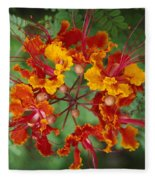 Mexican Bird Of Paradise Fleece Blanket