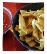 Mexican Inn Chips And Salsa Fleece Blanket