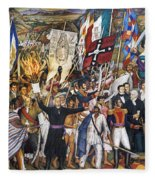 Mexico: 1810 Revolution Fleece Blanket