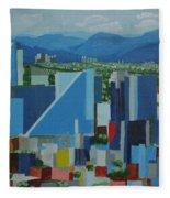 Mexico City  Fleece Blanket