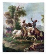 Mexico: Hapsburg Reign Fleece Blanket