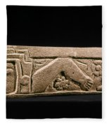 Mexico: Totonac Swimmer Fleece Blanket