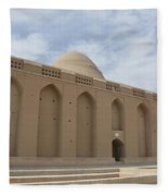 Meybod Ice House Yazd, Iran Fleece Blanket