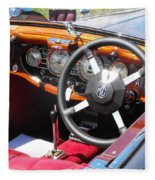 Mg Dashboard Fleece Blanket