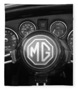 Mg Midget Dashboard Fleece Blanket