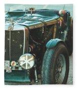 Mg-tc Racer Fleece Blanket