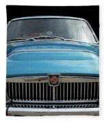 Mgc Classic Car Fleece Blanket