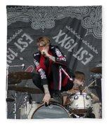 Mgk Drums Fleece Blanket