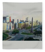 Mi Buenos Aires Querido... Fleece Blanket