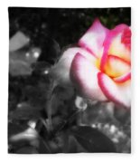 Mi Rosa Fleece Blanket