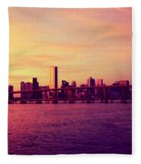 Miami Nights Fleece Blanket