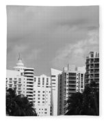 Miami Sky Fleece Blanket