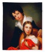 Michael Angelo And Emma Clara Peale Fleece Blanket