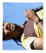 Musician Michael Franti  Fleece Blanket