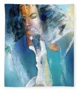Michael Jackson 04 Fleece Blanket
