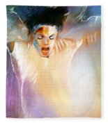 Michael Jackson 09 Fleece Blanket