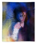 Michael Jackson 16 Fleece Blanket