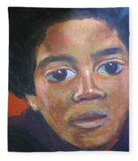 Michael Jackson Fleece Blanket
