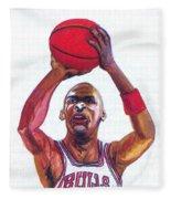 Michael Jordan Fleece Blanket