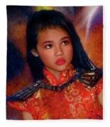 Michelle Ahl Fleece Blanket