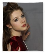 Michelle Trachtenberg Fleece Blanket