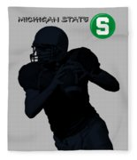 Michigan State Football Fleece Blanket
