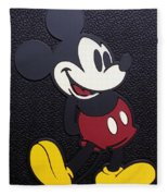 Mickey Mat Fleece Blanket