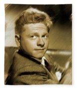 Mickey Rooney, Actor Fleece Blanket