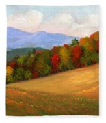 Mid Autumn Fleece Blanket