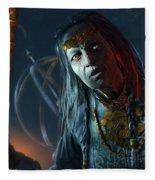 Middle-earth Shadow Of Mordor Fleece Blanket