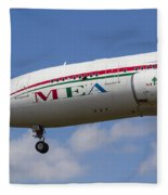 Middle Eastern Airlines Airbus A330 Fleece Blanket