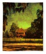 Middleton Place In Charleston Fleece Blanket