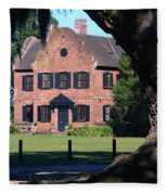 Middleton Place Plantation House Fleece Blanket