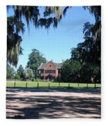 Middleton Plantation Charleston Sc Fleece Blanket